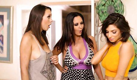 گردآوری رابطه جنسی در دانلود رایگان فیلم پورن با لینک مستقیم خانه با همسران داغ در نکات مختلف